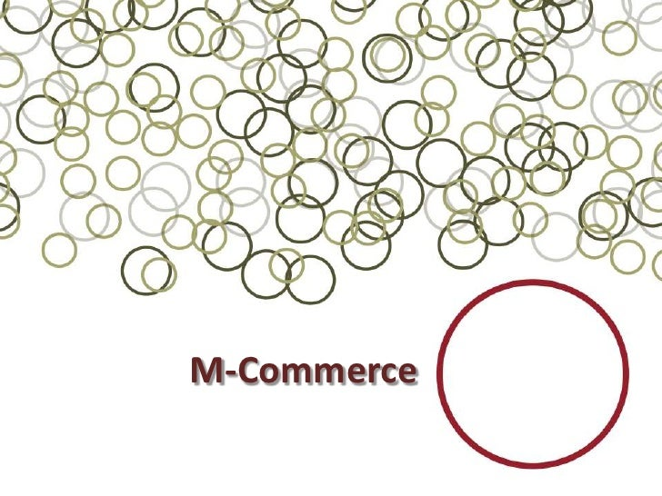 M-Commerce<br />