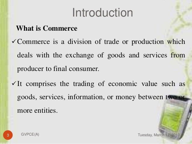 E-commerce as an electronic trading-system-special features