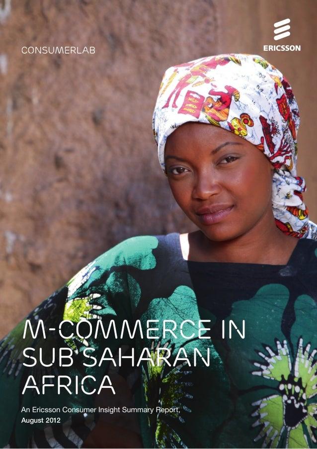 M-Commerce in Sub Saharan Africa