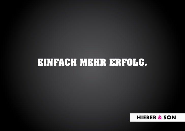 EINFACH MEHR ERFOLG.