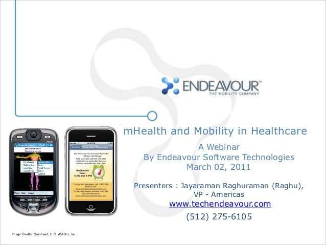 mHealth and Mobility in Healthcare                                                            A Webinar                   ...