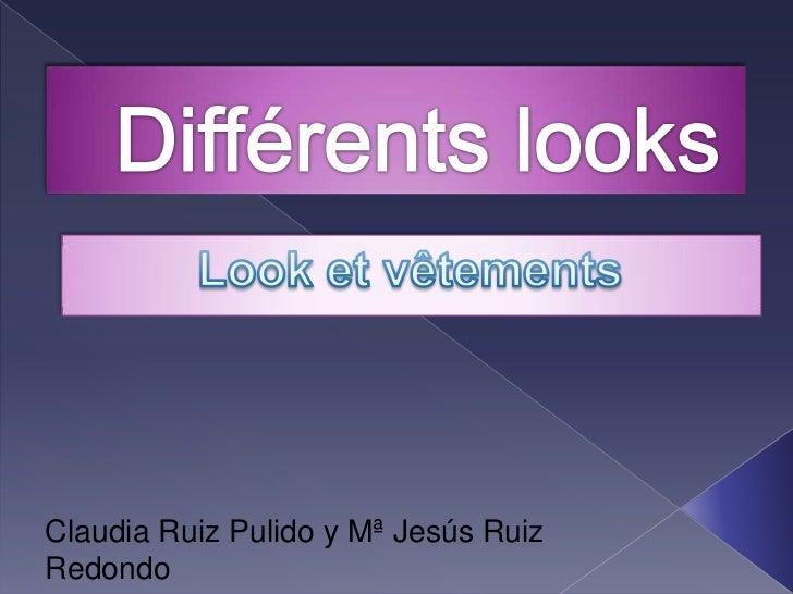 Claudia Ruiz Pulido y Mª Jesús RuizRedondo