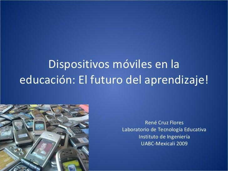 Dispositivos móviles en la educación
