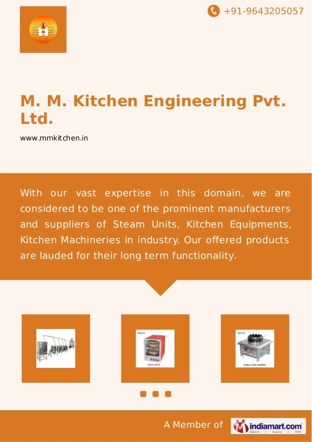 Steam units by m m kitchen engineering pvt ltd for Kitchen 95 ludhiana