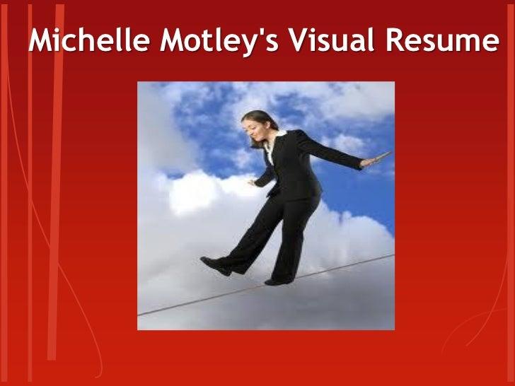 M. Motley visual resume