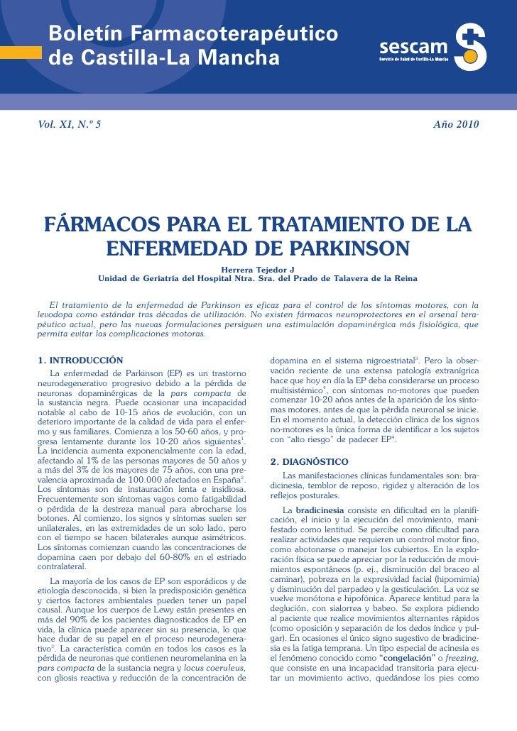Boletín Farmacoterapéutico  de Castilla-La ManchaVol. XI, N.º 5                                                           ...