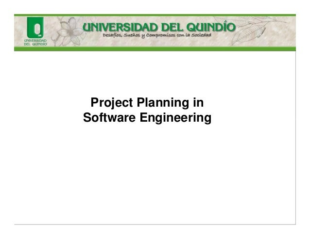 Project Planning in Software Engineering