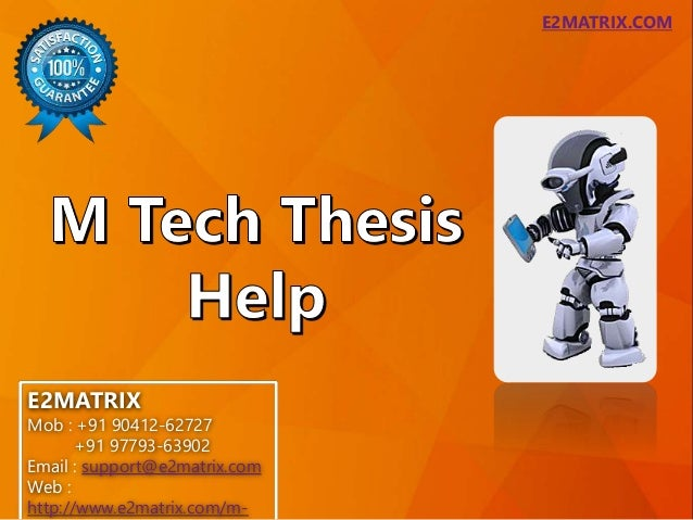 m-tech thesis in computers Full list of projects on electronics/electrical for masters power electronics need professional services in your mtech/phd project & thesis computer.
