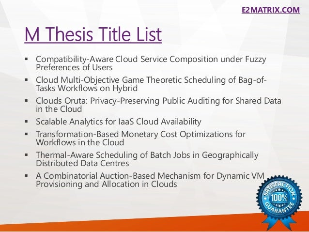 Phd thesis on software testing