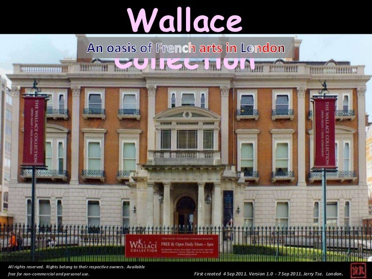 Wallace Collection - An Oasis of French Arts