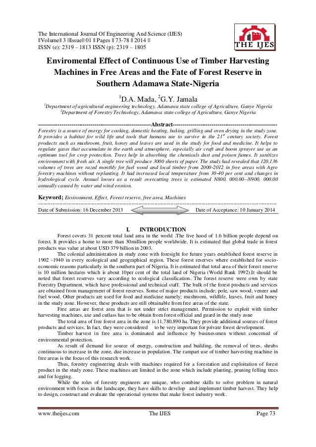The International Journal Of Engineering And Science (IJES) ||Volume|| 3 ||Issue|| 01 || Pages || 73-78 || 2014 || ISSN (e...
