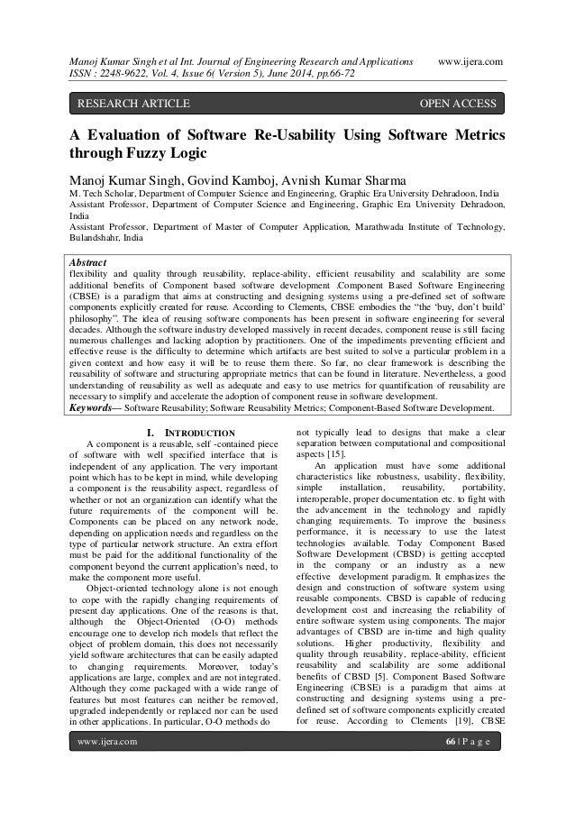 Manoj Kumar Singh et al Int. Journal of Engineering Research and Applications www.ijera.com  ISSN : 2248-9622, Vol. 4, Iss...
