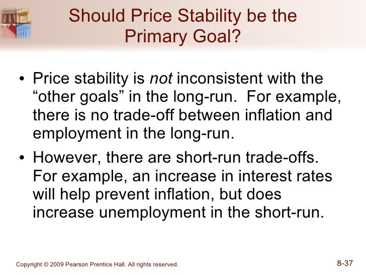Disadvantages of price stability?