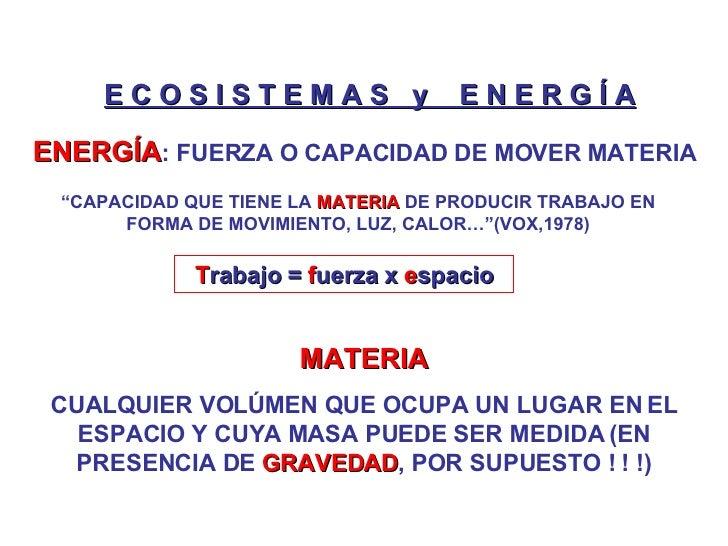M1 Clase 5 Ecologia y Medio Ambiente