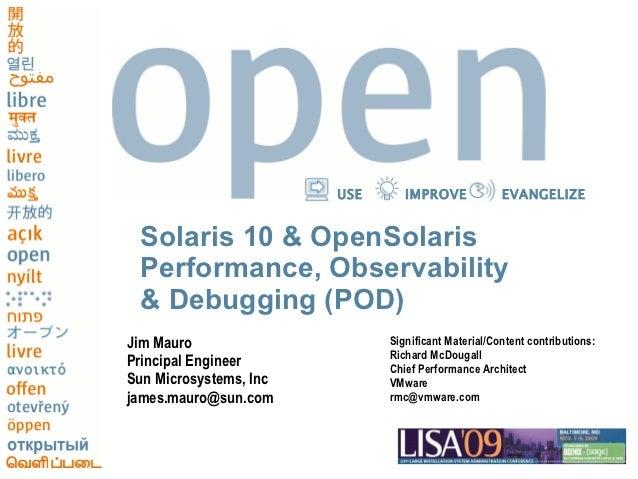 Solaris Internals Preso circa 2009