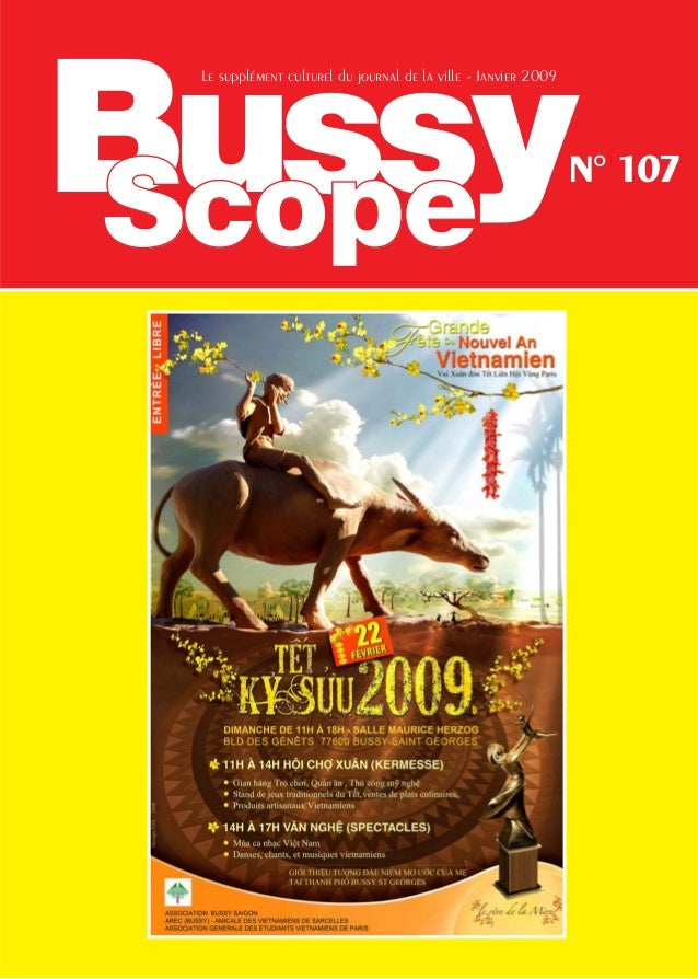 Bussy Le supplément culturel du journal de la ville - Janvier 2009                                                        ...