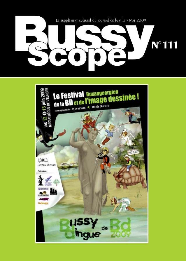 Bussy Le supplément culturel du journal de la ville - Mai 2009                                                            ...