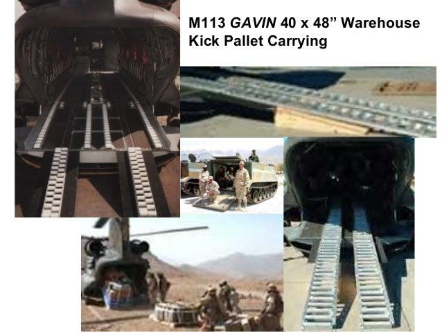 "M113 GAVIN 40 x 48"" WarehouseKick Pallet Carrying"
