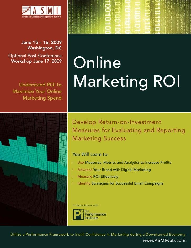 June 15 – 16, 2009         Washington, DC Optional Post-Conference  Workshop June 17, 2009                                ...