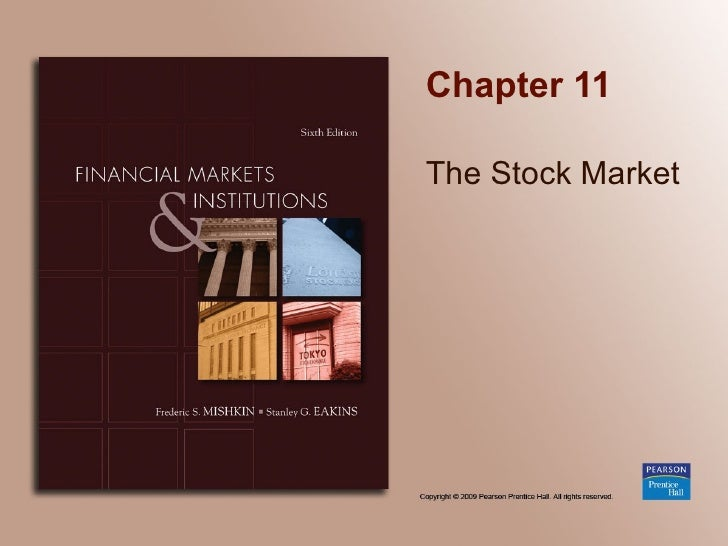 Chapter 11_The Stock Market