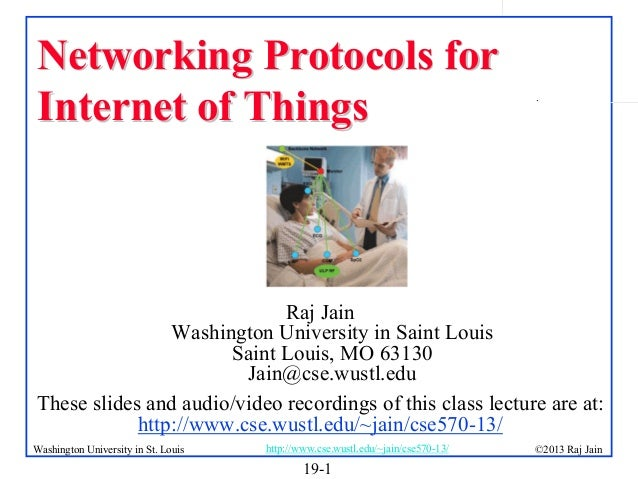 Networking Protocols for Internet of Things