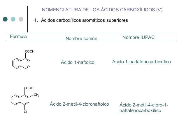 Acidos Carboxilicos ácidos Carboxílicos Aromáticos