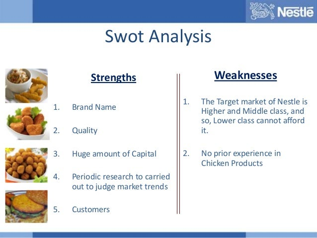 nescafe 3 in 1 swot analysis