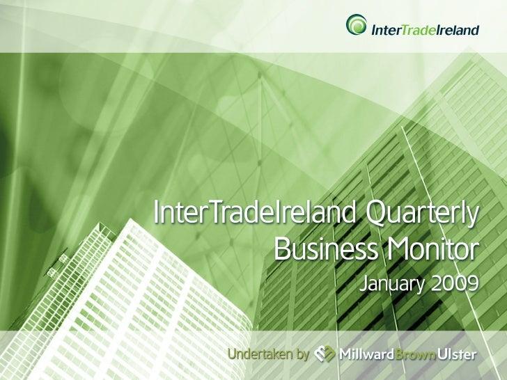 InterTradeIreland  – Quarterly Business Monitor 44102221