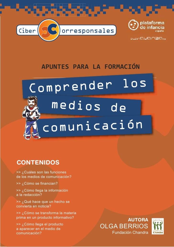 A PUNTES PA RA        LA    FORMA CIÓN             render los       Comp          medios de               comunicación  CO...
