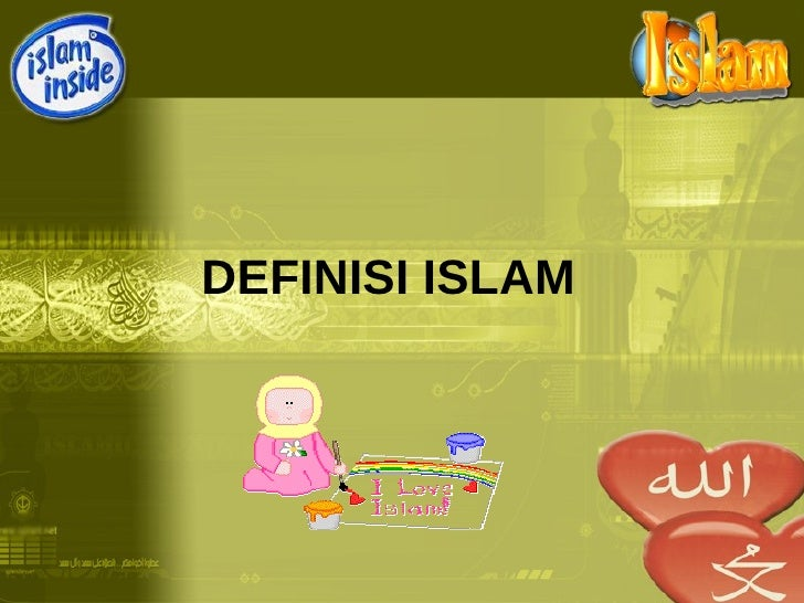 M2 Definisi Islam