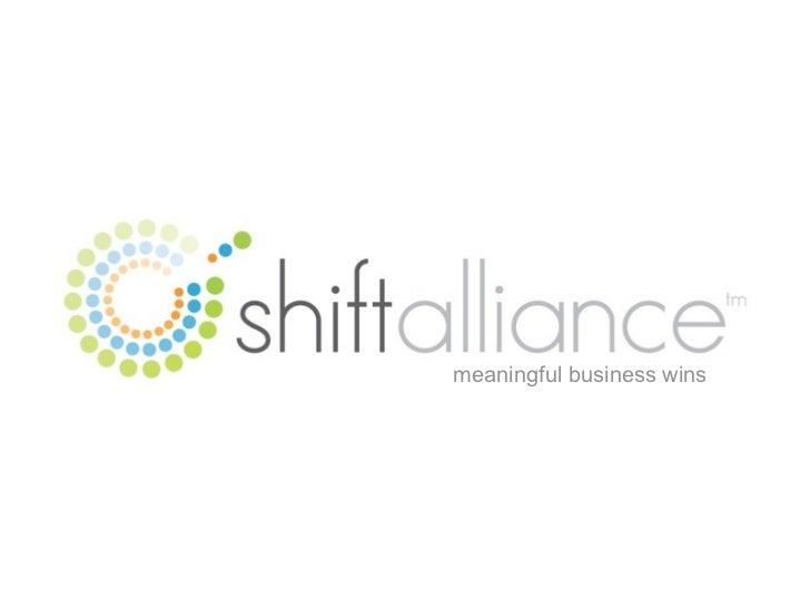 Shiftalliance M2∞ Introduction