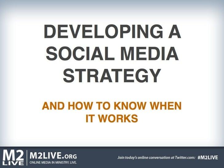 M2 LIVE Social Media Strategy