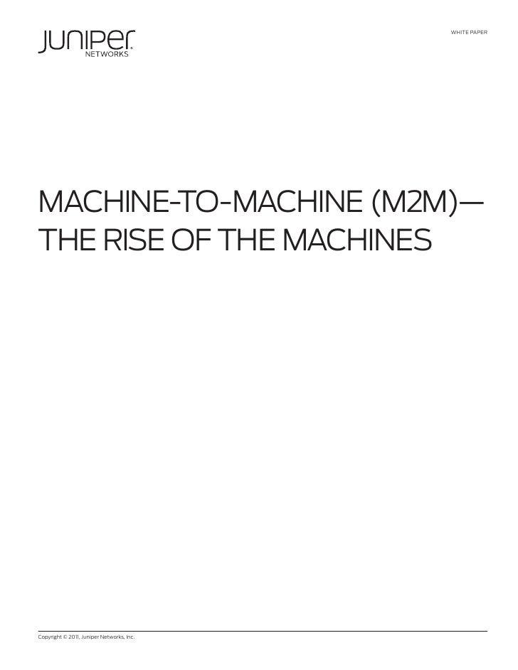 Machine to Machine White Paper
