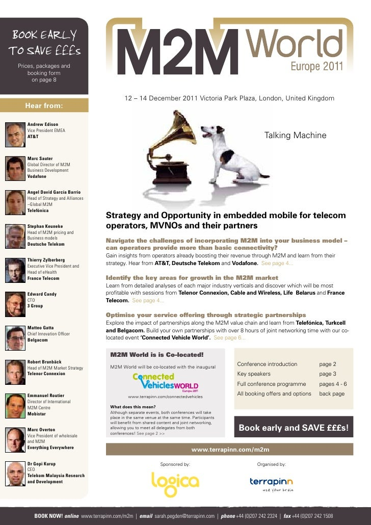 M2M World 2011 Brochure