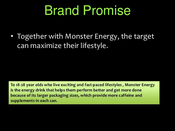 monster energy marketing Monster's facebook page is filled with pictures and videos of the extreme sports athletes and events sponsored by monster energy as a part of their social media marketing strategy to say that monster was proud of its family of sponsored athletes would be a gross understatement.