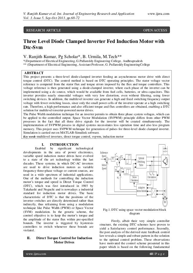 V. Ranjith Kumar et al. Int. Journal of Engineering Research and Application www.ijera.com Vol. 3, Issue 5, Sep-Oct 2013, ...