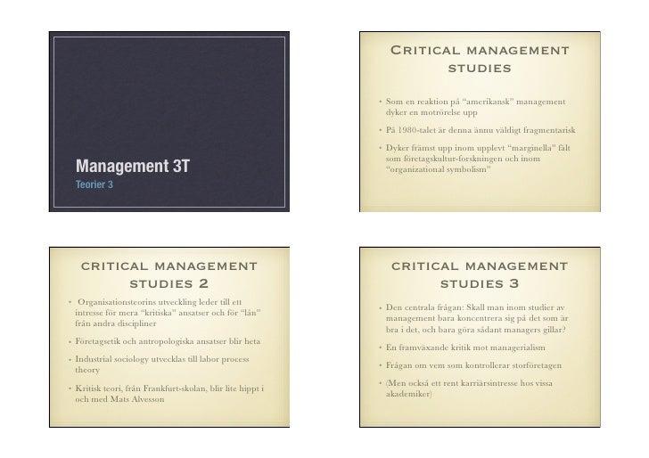 Critical management                                                                       studies                         ...