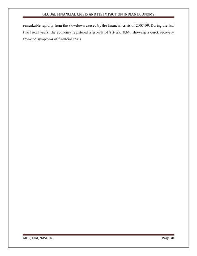 Dissertation banking crisis