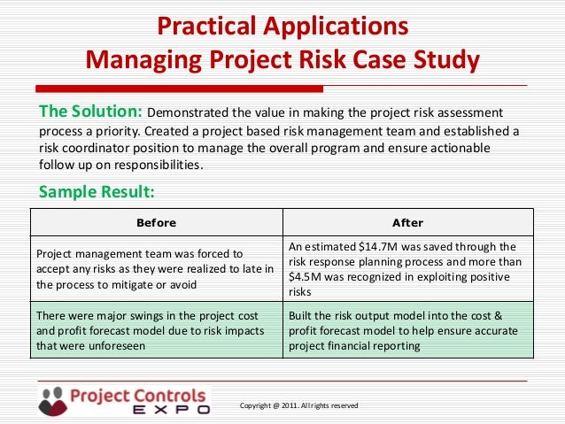 cost management case study Every educational organization struggles with the high cost of insurance, especially healthcare the challenges of funding health care have increased significantly over the past few years for many american educational institutions due to the implementation of the affordable care act.