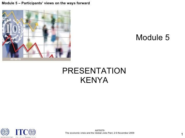 M5.1 Kenya Shaping Actions For Crisis Response