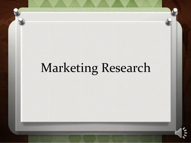 M5.3 marketing research