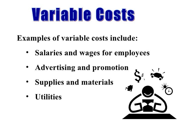 distribution of variable vs fixed costs Fixed costs (for salaried labor, buildings, and equipment) are not saved over the short term when a health care facility reduces service objective to determine the relative variable and fixed costs of inpatient and out.