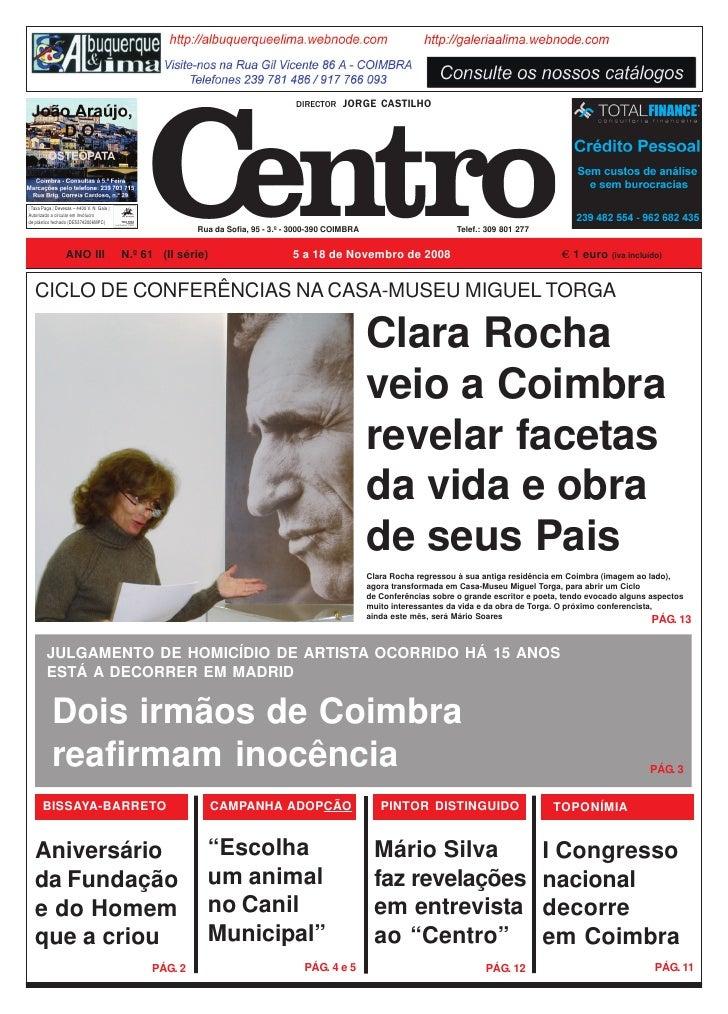 O Centro - n.º 61 – 05.11.2008