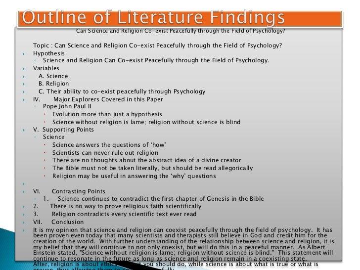 thesis proposal psychology