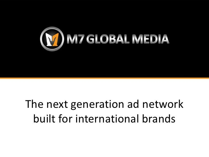 The next generation ad network built for international brands