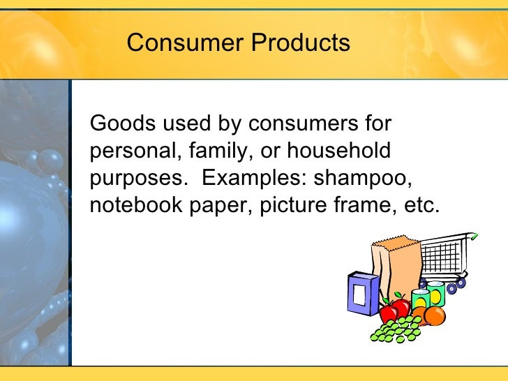 Consumer Goods Classification Example Essay Essay For You