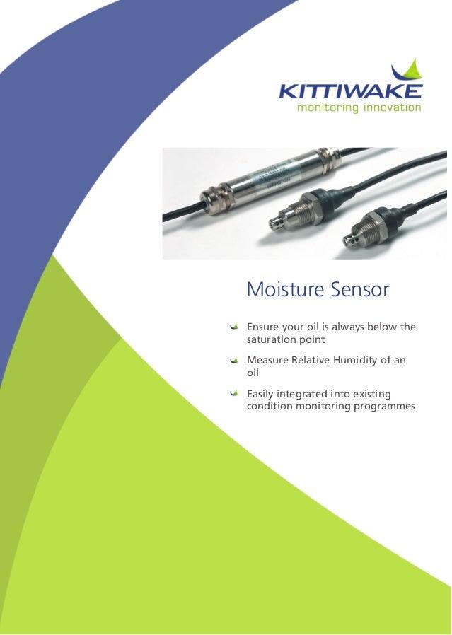 Parker Kittiwake Moisture Sensor Brochure