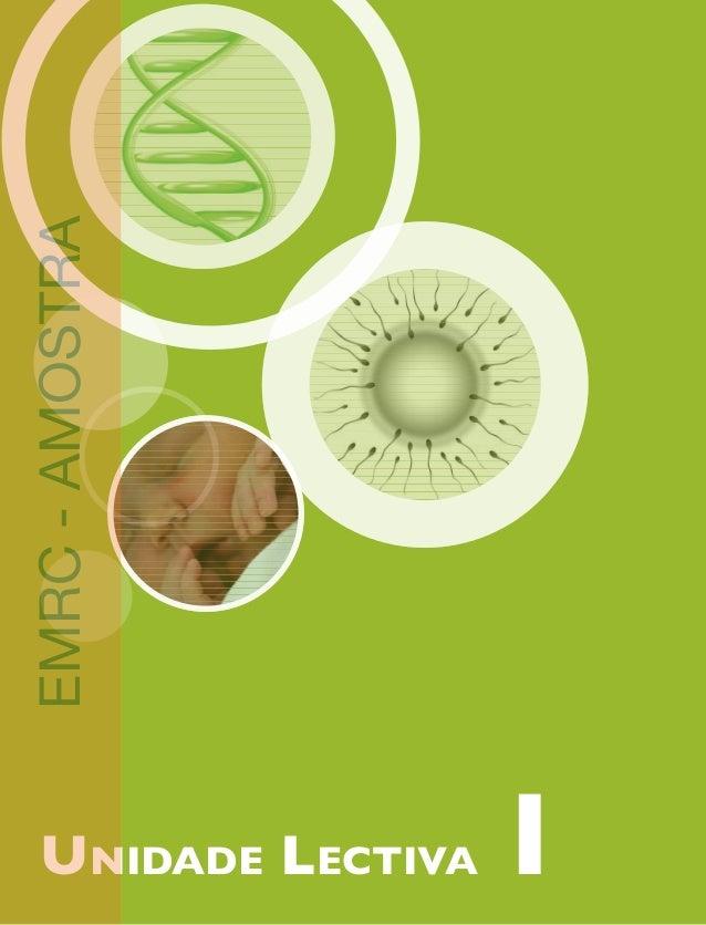 Unidade Lectiva 1 EMRC - AMOSTRA