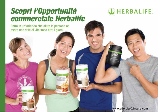Scopri l'Opportunitàcommerciale HerbalifeEntra in un'azienda che aiuta le persone adavere uno stile di vita sano tutti i g...