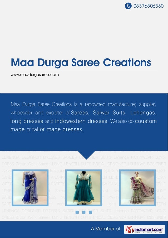 Maa durga-saree-creations
